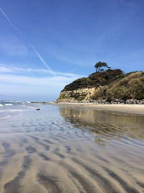 San Diego Beach Beach Ocean California Water Sand