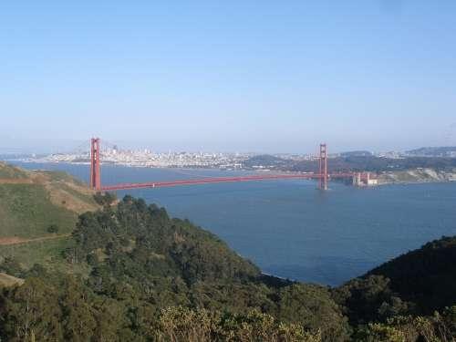San Francisco Golden Gate Bridge Landscape