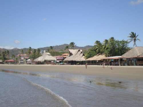 San Juan Del Sur Nicaragua Sun Beach Vacation