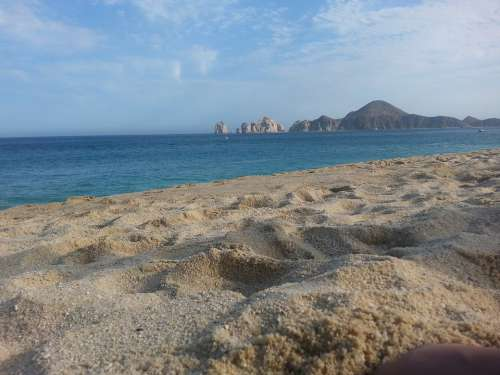 Sand Cabo Arch Mexico Beach View