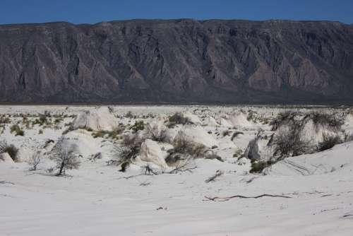 Sand White White Desert