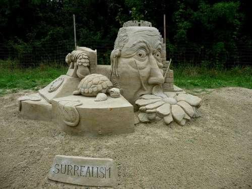 Sand Sculptures Sand Statue Olšiak Sculptor Artist