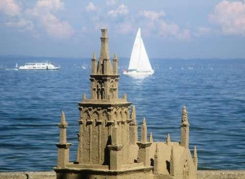 Sandburg Lake Constance Sand Sculpture Rohrschach