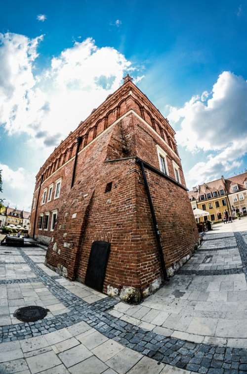 Sandomierz Poland The Old Town The Market Monuments