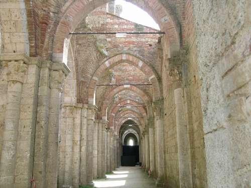 Sangalgano Tuscany Church