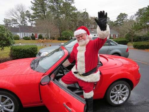 Santa Claus Beard Holiday Christmas Xmas
