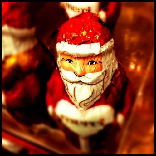 Santa Claus Christmas Man Bart Figure Nicholas