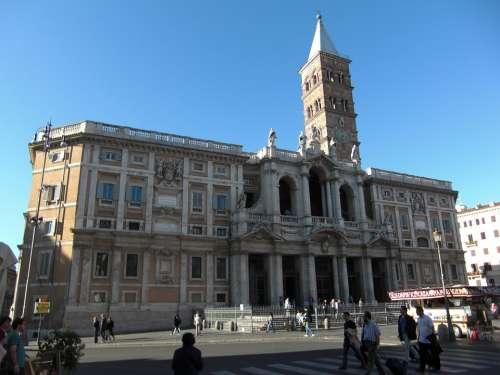 Santa Maria Maggiore Rome Italy Building