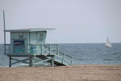 Santa Monica Venice Beach California Beach