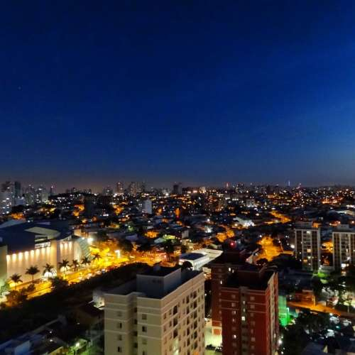São Paulo Blue Sky Night