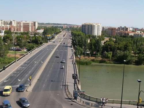Saragossa Santiago Bridge Spain
