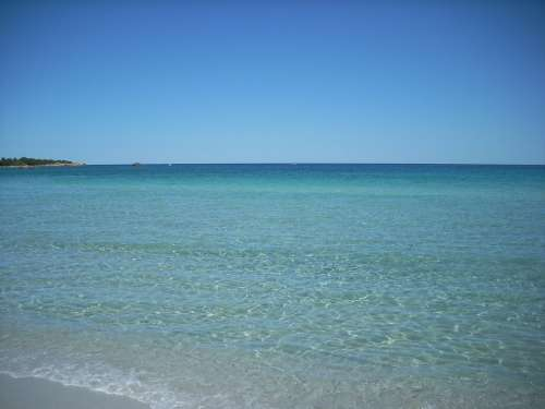 Sardinia Sea Water Summer Nature Landscape Costa