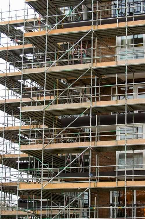 Scaffold Scaffolding Builder Worker Rigger
