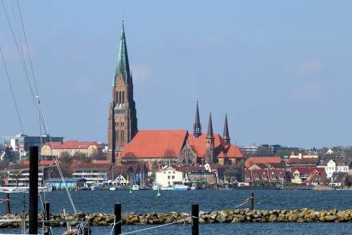Schleswig Mecklenburg Church Dom Schlei City