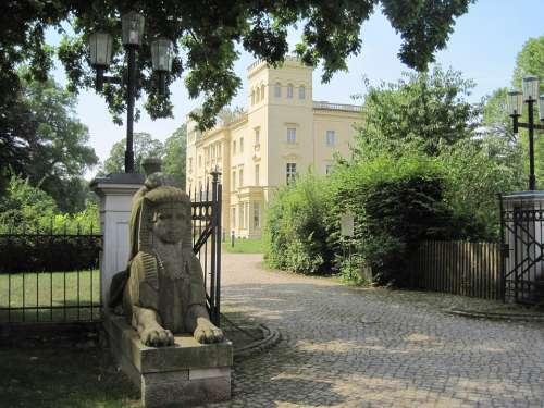 Schloß Steinhöfel Castle Park Entrance Castle Park