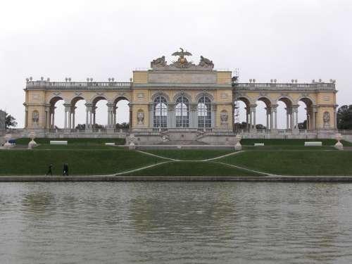 Schönbrunn Vienna Austria Garden Orangery Park