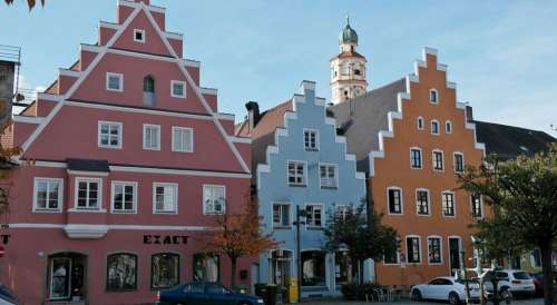 Schrobenhausen City Bavaria Germany Asparagus