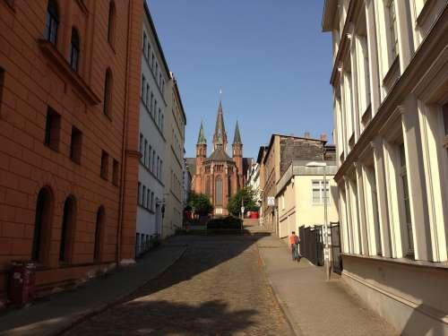 Schwerin Mecklenburg Western Pomerania State Capital