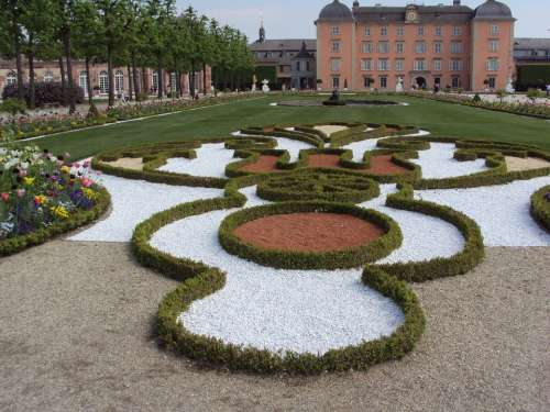 Schwetzingen Castle Garden Schlossgarten