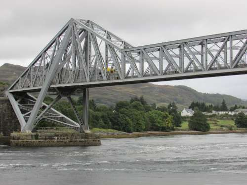 Scotland Connel Bridge Iron Bridge West Coast