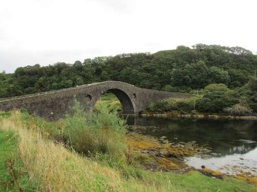 Scotland Old Bridge Bridge Atlantic Bridge