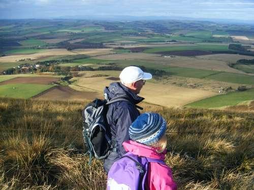 Scotland Hills Hillwalking Scottish Hills Trekking