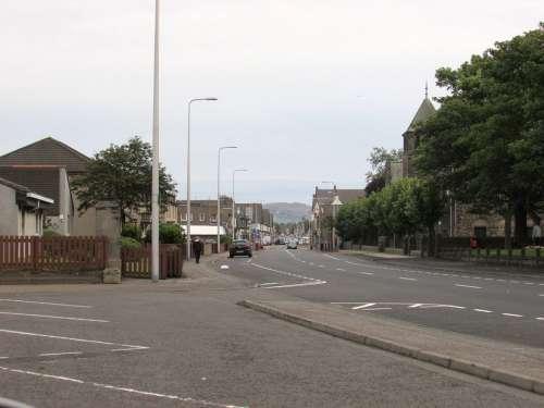Scotland Street Road City Uk Kingdom Urban Town