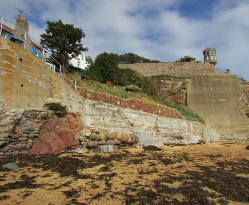 Scotland Crail Fife Cliff Coast East Neuk