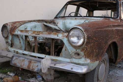 Scrap Car Rust