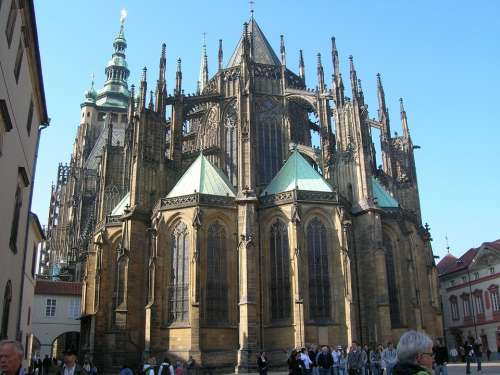 Sct Vitus Cathedral Architecture Building Cathedral