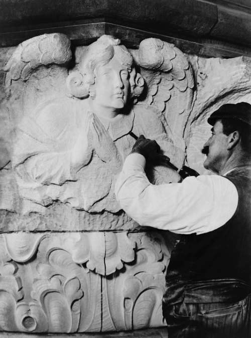 Sculptor Sculpture Artists Stonemason Kunstkandwerk