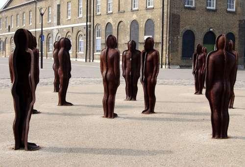 Sculpture Iron Monument Tourism Peter Burke
