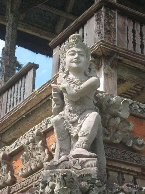 Sculpture God Asia Statue Spiritual Symbol