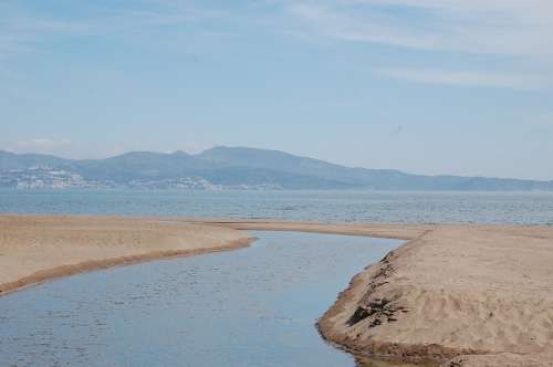 Sea Sand Nature