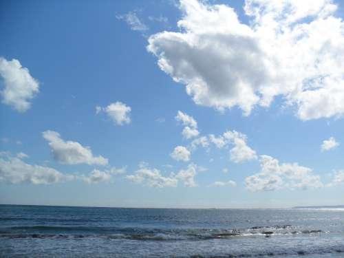 Sea Sky Beach Cloud Pohang Water