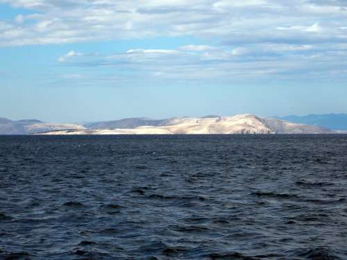 Sea Island Adriatic Sea Island Of Rab Croatia