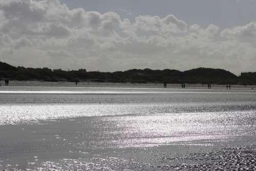 Sea Beach Reflections