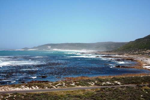 Sea South Africa Bay Nature Coast Water Vacations