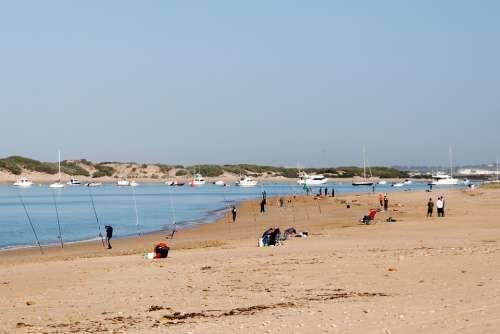 Sea Beach Sky Costa Water Saint Petri Chiclana