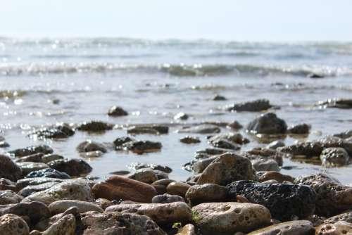 Sea Pebbles Water
