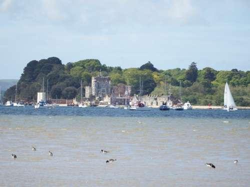 Sea Island Poole Dorset Coastline Sea View