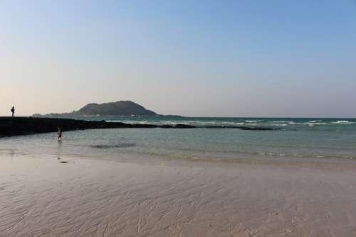 Sea Jeju Island Island