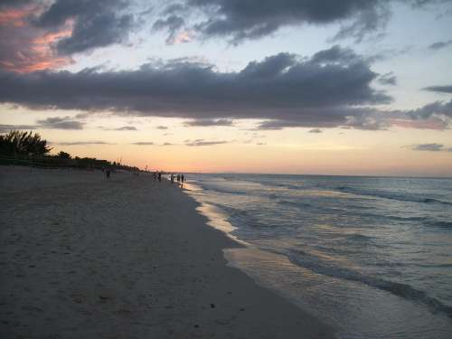 Sea Beach Travel Sand Sunset