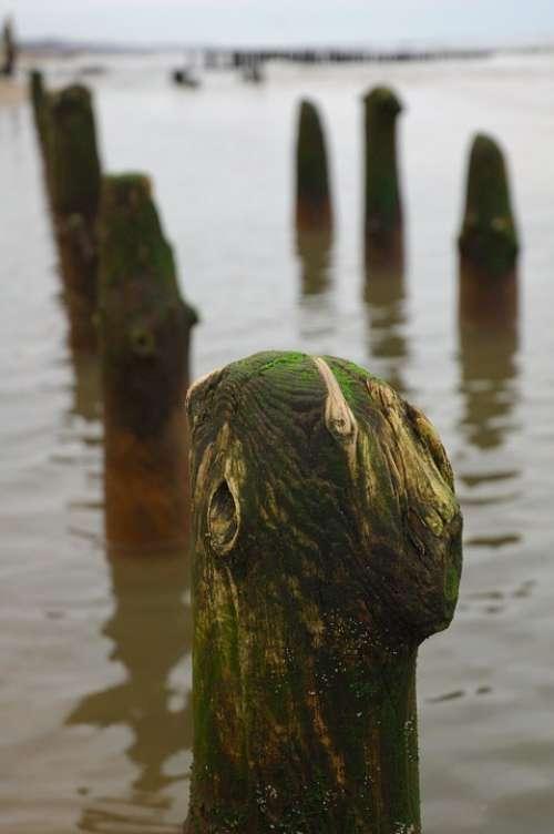 Sea Breakwaters Rocks Beach Water Stone Nature