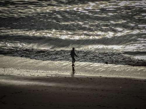 Sea Beach Landscape Waves Beach Sand