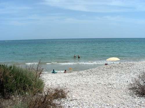 Sea Side Roller Mediterranean Spain Beach