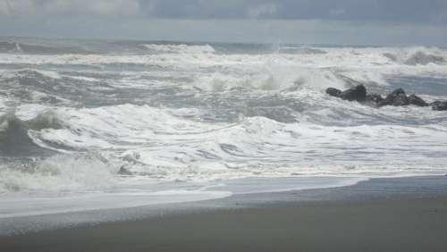 Sea Surf Beach Edge Of The Sea Beach Sand Water