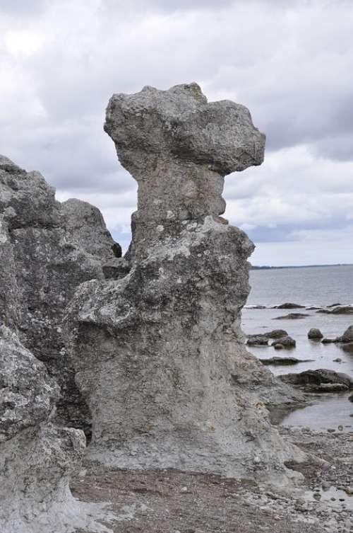 Sea Stack Gotland Stone