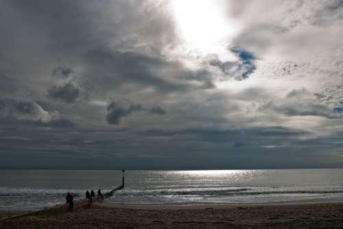 Seascape Beach Sunlight