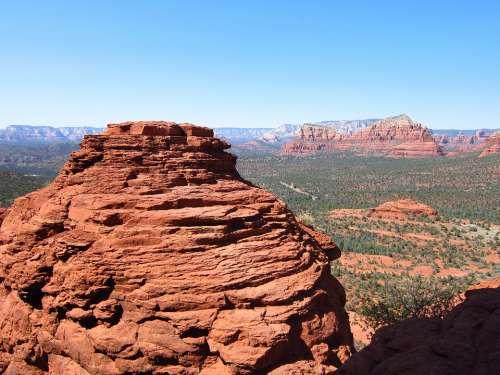Sedona Landscape Scenic Arizona Desert Scenery
